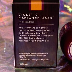 Tatcha Skincare - NIB TATCHA Violet C Radiance Mask travel 10mL